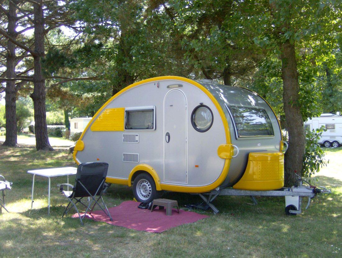 Emplacements pour camping car caravane tente relais de for Camping piscine quiberon