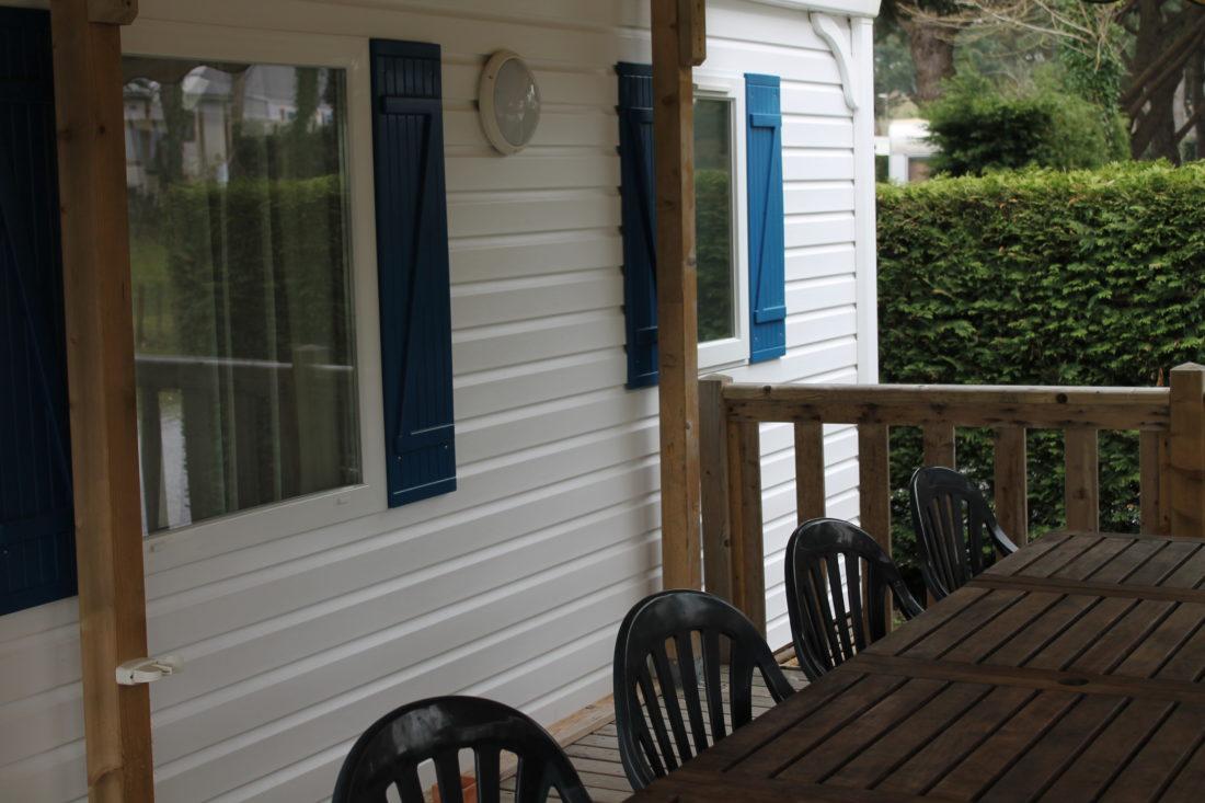 Mobil home 2 chambres 28m relais de l 39 oc an - Mobil home dans son jardin ...