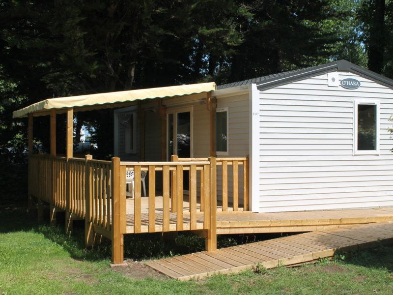 Mobil home accessible PMR 2 ch.  - Extérieur