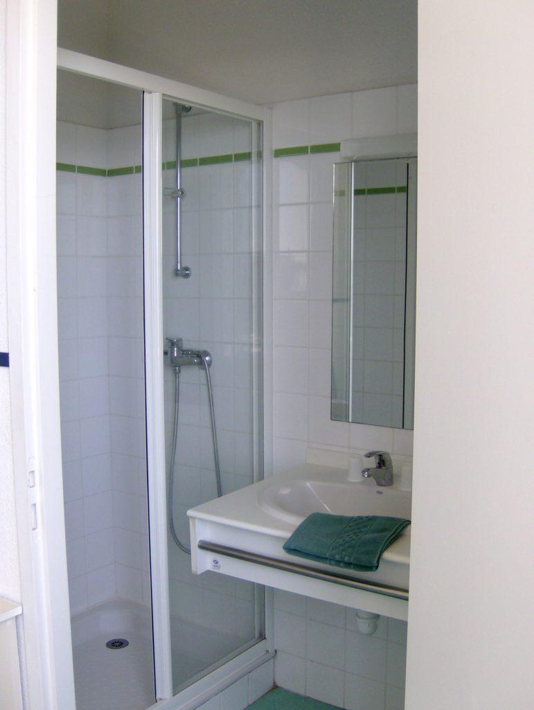 Salle de bain privative - Relais de l'Océan