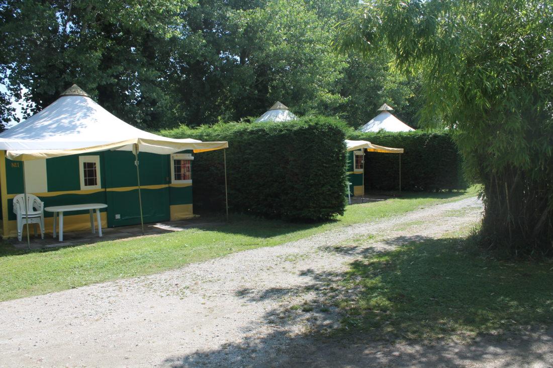 Tentes aménagées 5 personnes - Extérieur