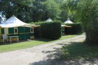 Tentes aménagées 5 personnes – Extérieur