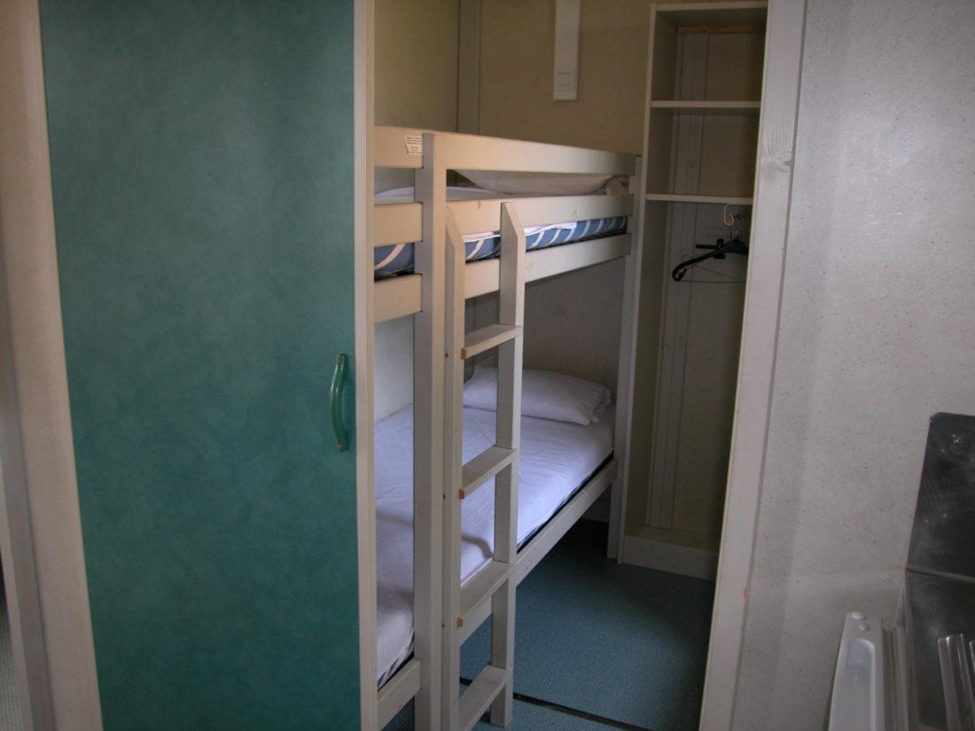 Chalet - Chambre lits superposés