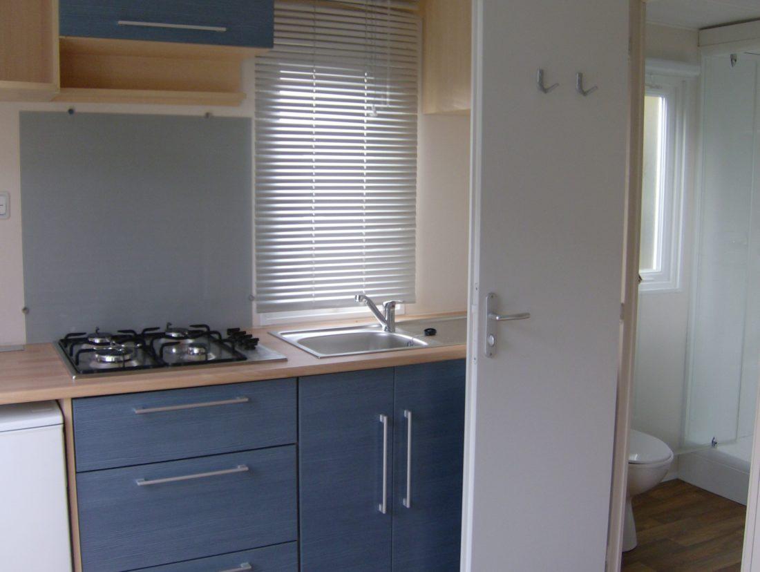 Mobil-home 1ch. (16m²) - Intérieur cuisine