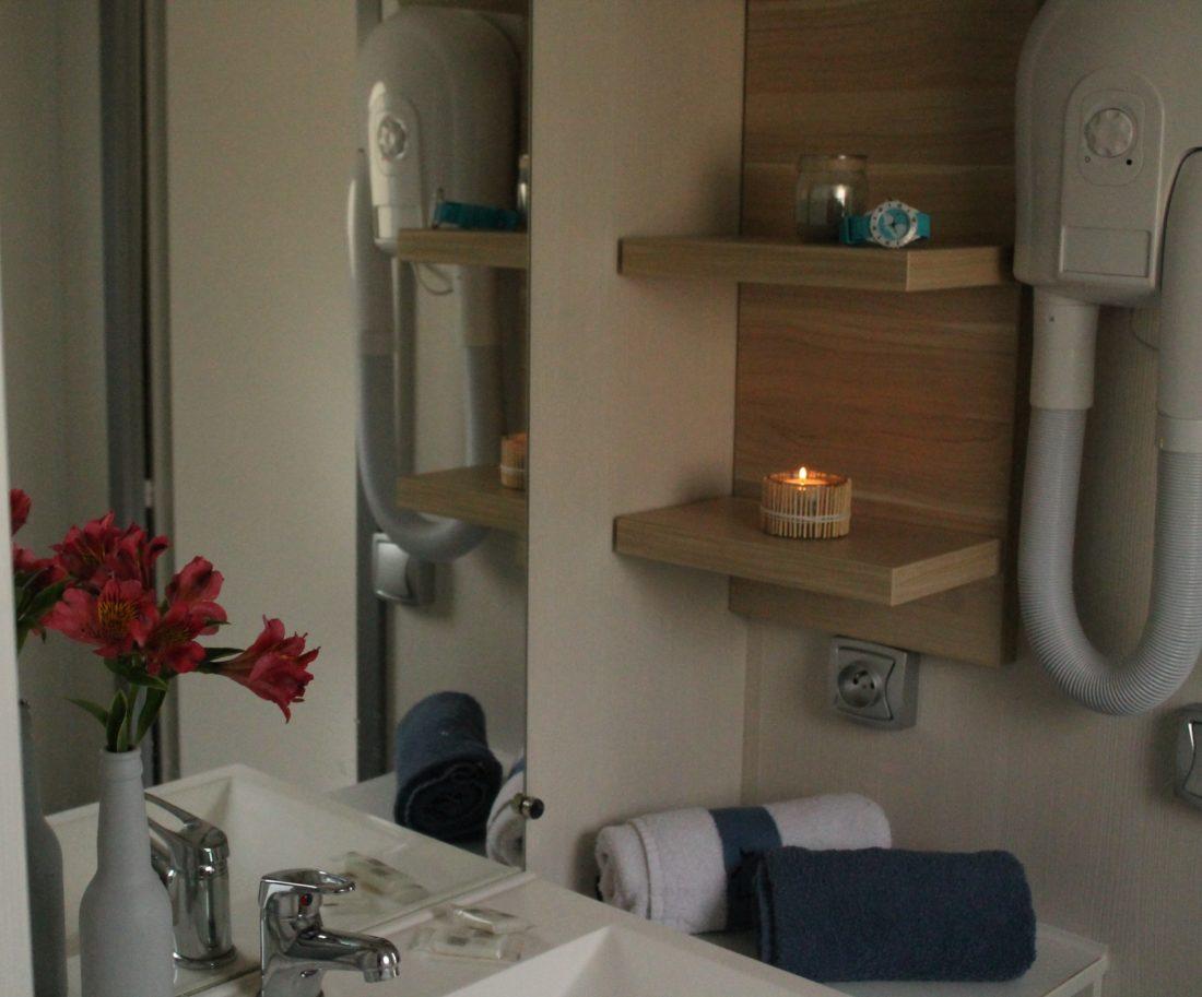 Mobil home 3ch - Salle de bain