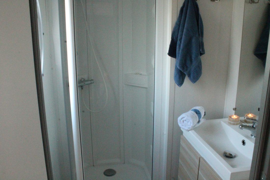 Mobil home 3ch. - Salle de bain