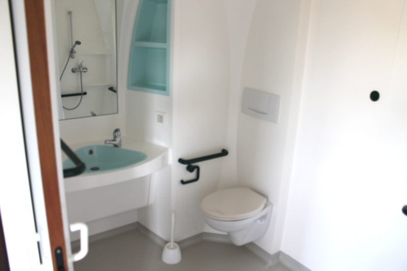 Mobil-home accessible PMR - Salle de bain